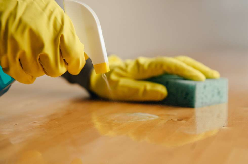 Disinfectant Cleaning
